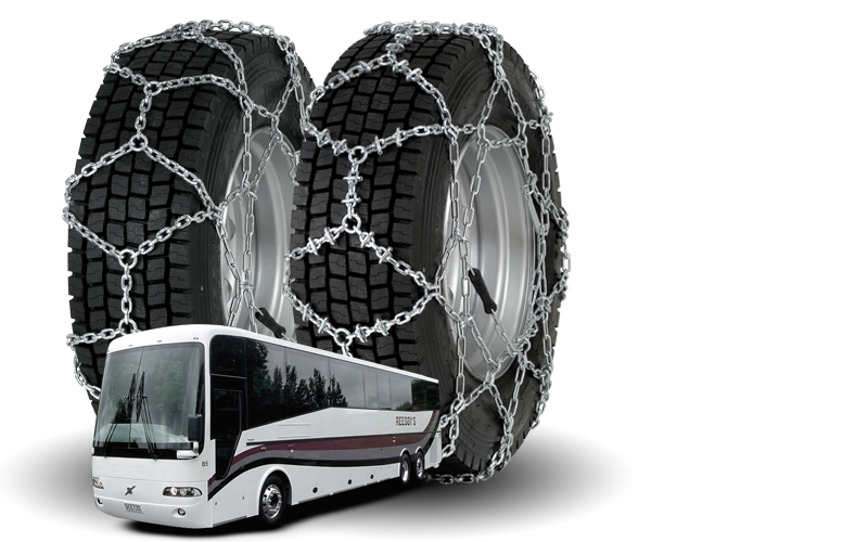 Snow Chains for Coaches