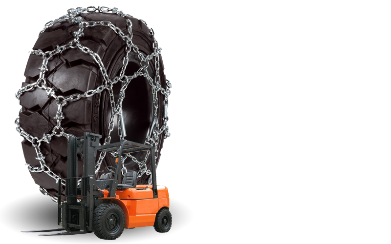 Snow Chains for Fork Lifts