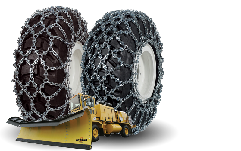 Snow Chains for Snow Removal