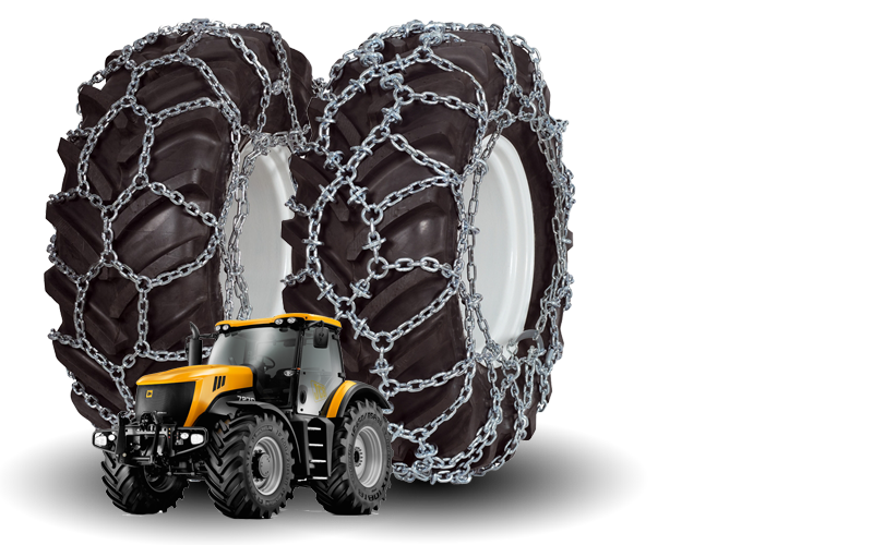Snow Chains for Agricultural Tractors