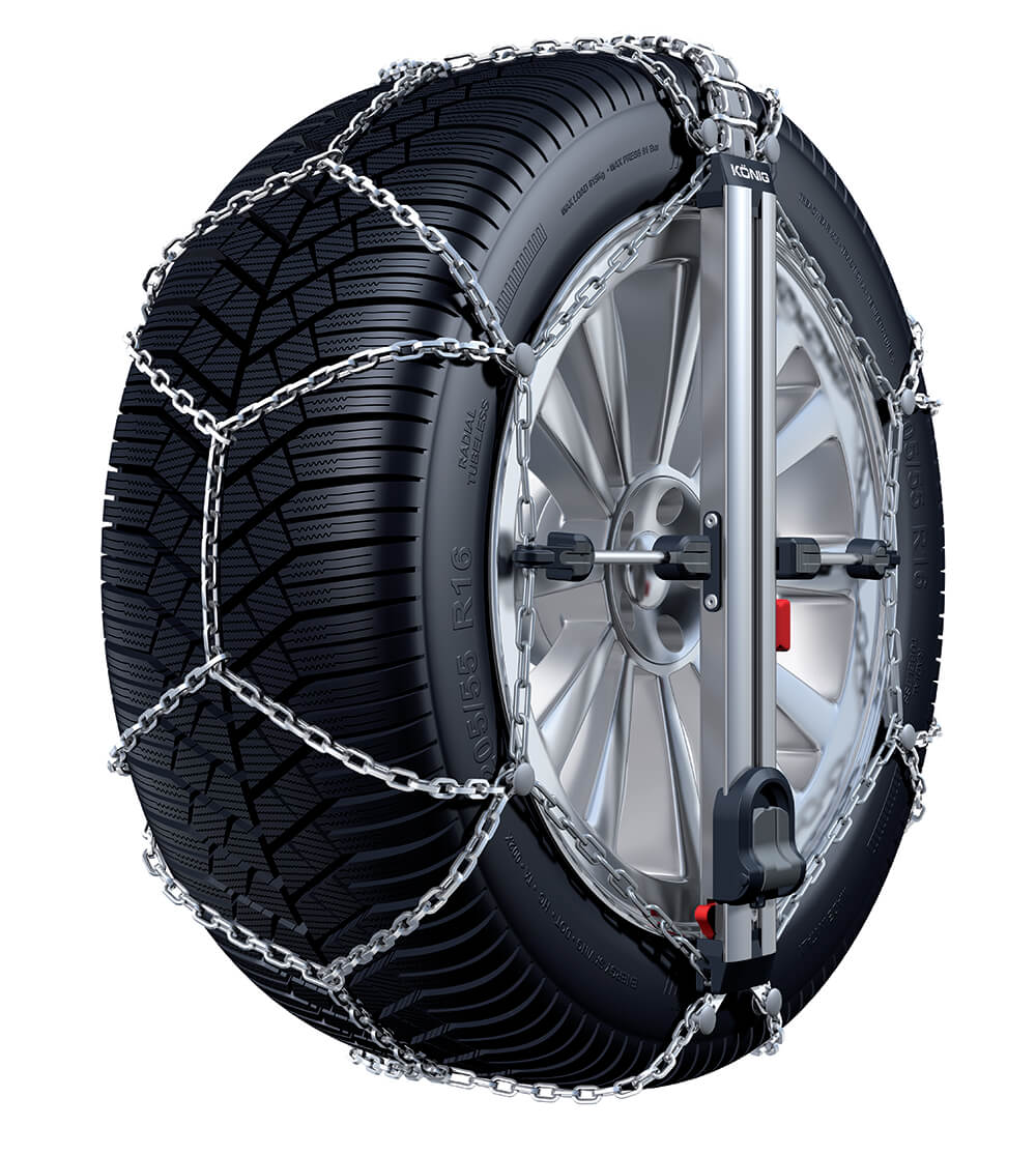 thule cu 9 easy fit snow chains for passenger cars. Black Bedroom Furniture Sets. Home Design Ideas