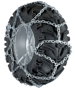Snow Chains for Mini Tractors, Snow Blowers, ATV's